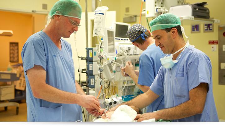 отделение урологии детской клиники Шнайдер, Израиль